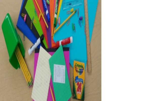 Photo of school supplies