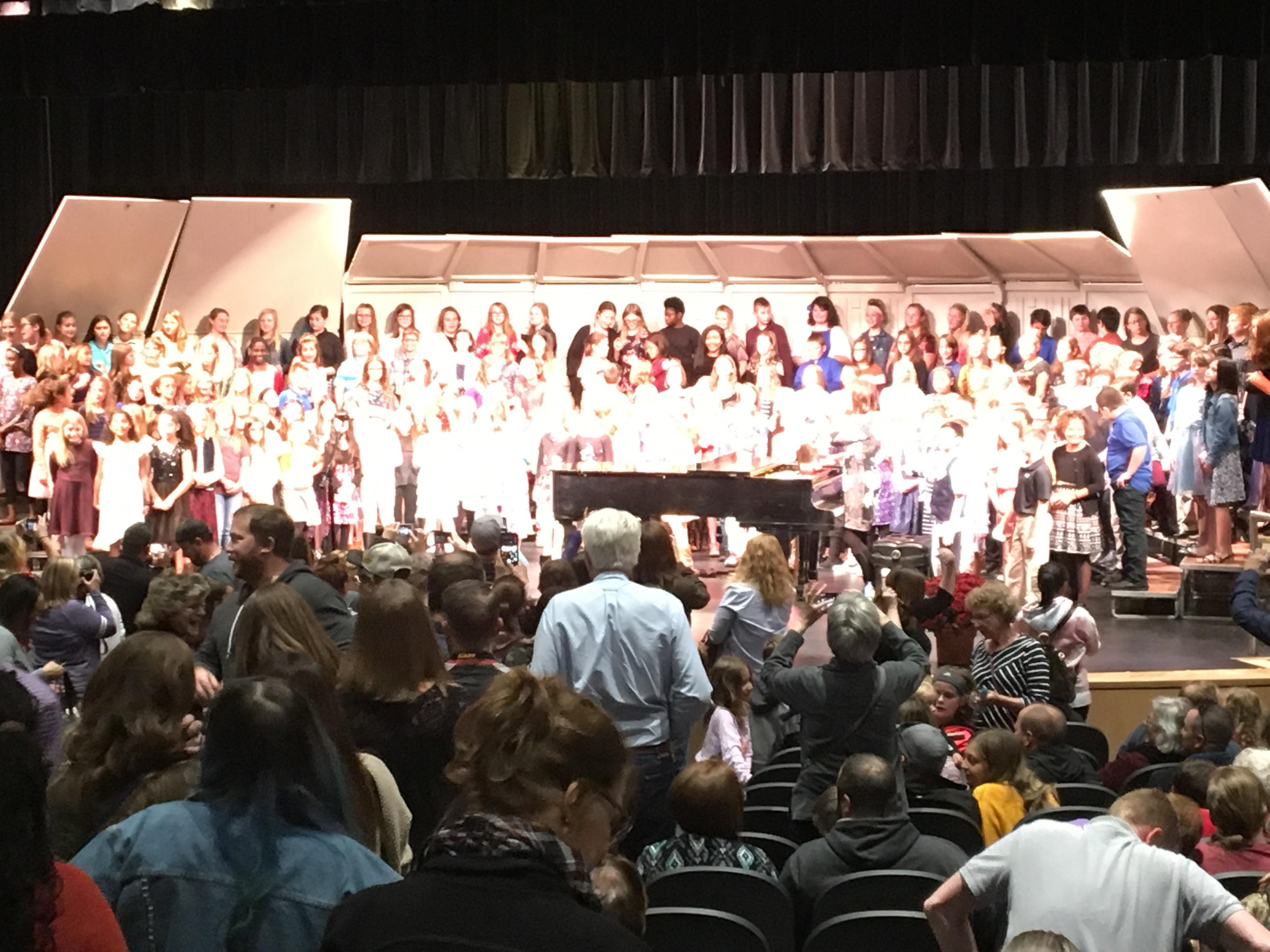SCKMEA Honor Choir Concert