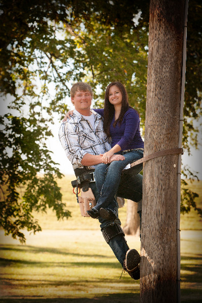 Photo of Mrs. Walton and her husband