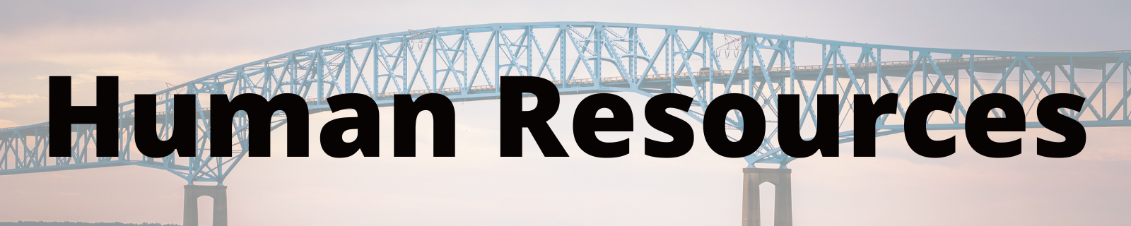 "header that reads ""human resources"""