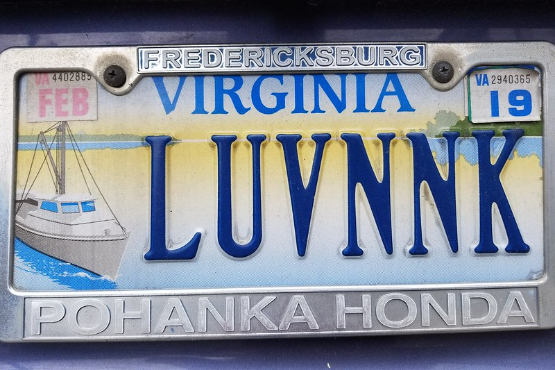 NNK license plate