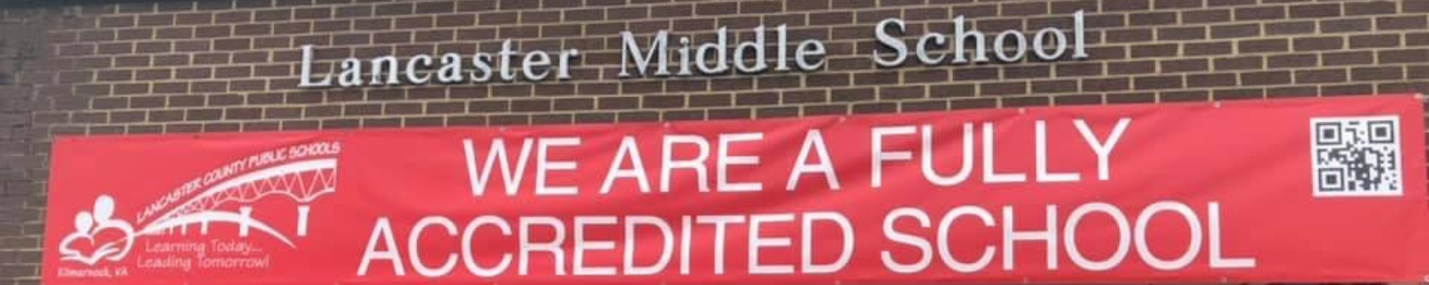 Welcome to the home of Lancaster Middle School banner