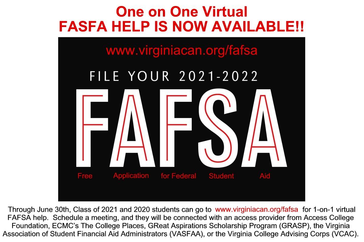 FAFSA flier