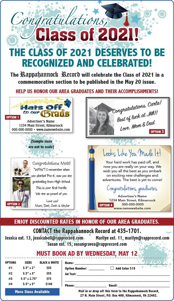 Rappahannock Record Graduation Promo