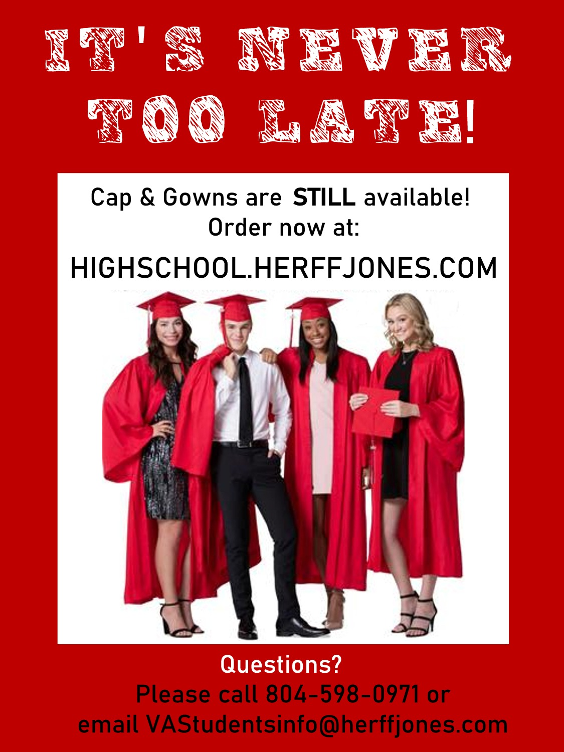 Cap and Gown Information