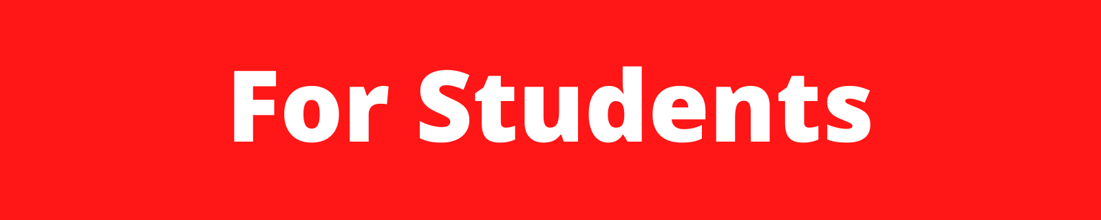 """header that reads """"for students"""""""