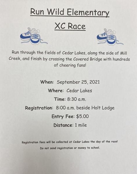 Run Wild Elementary XC Race