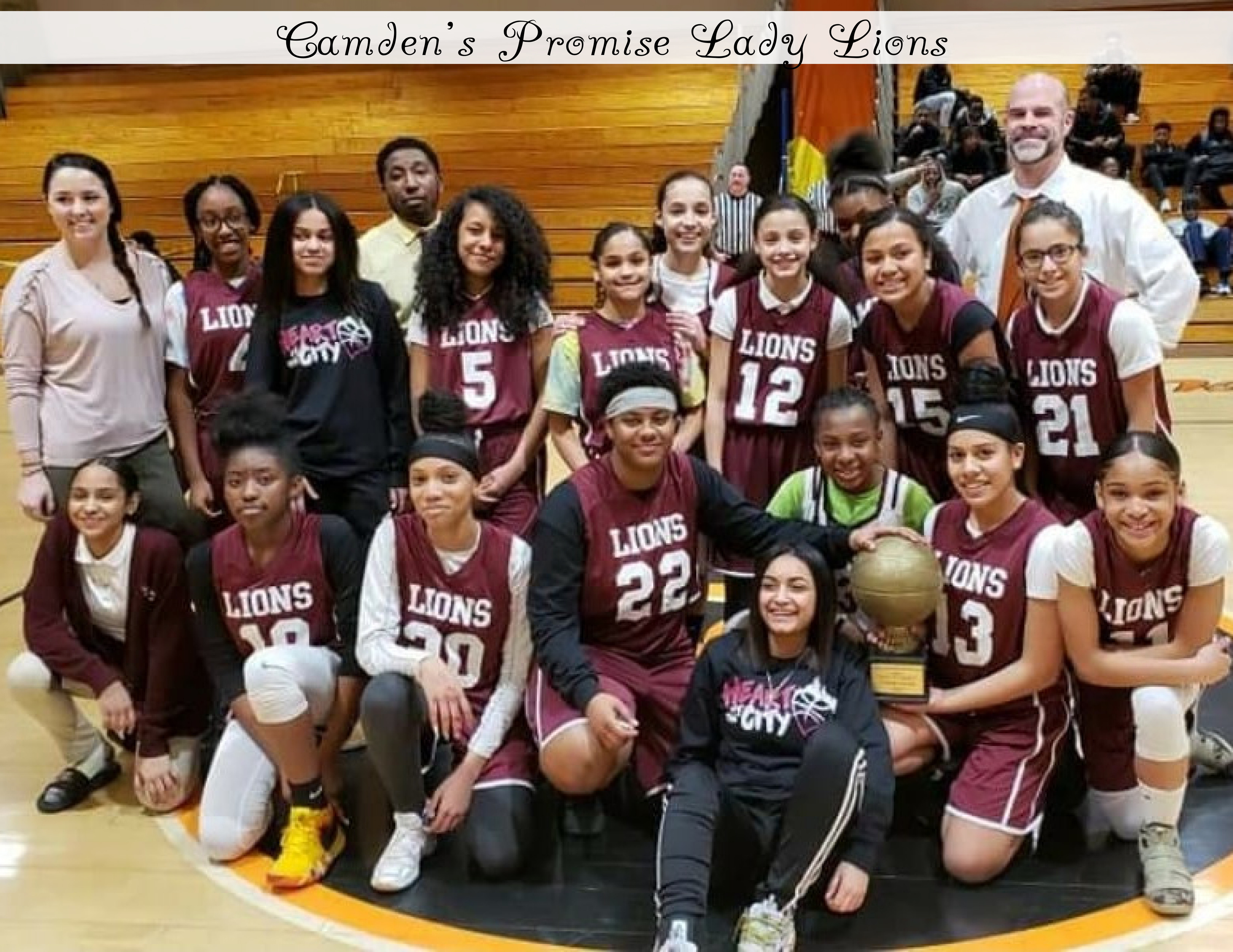 Camden's Promise Lady Lions