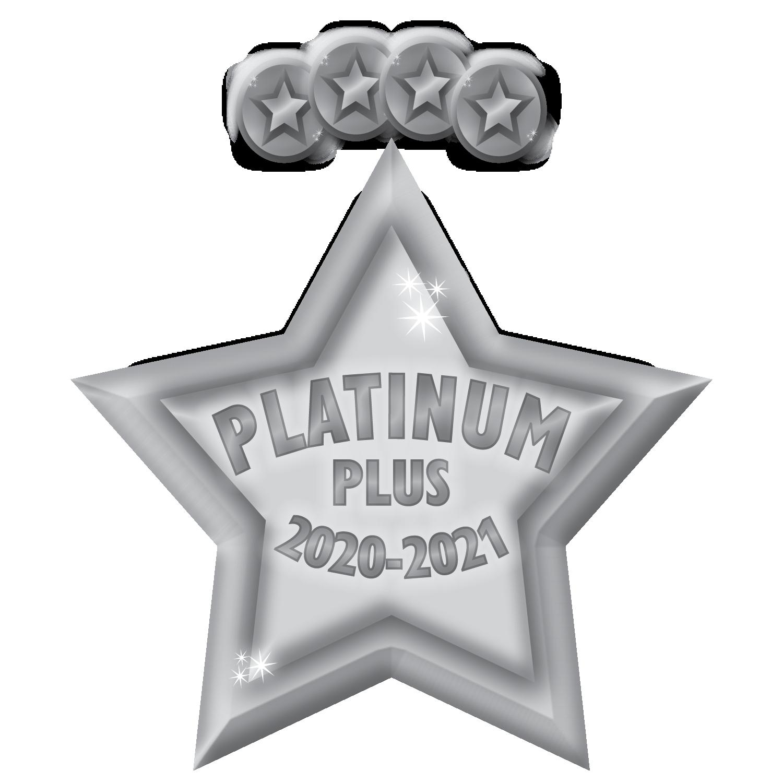 4 Platinum Awards