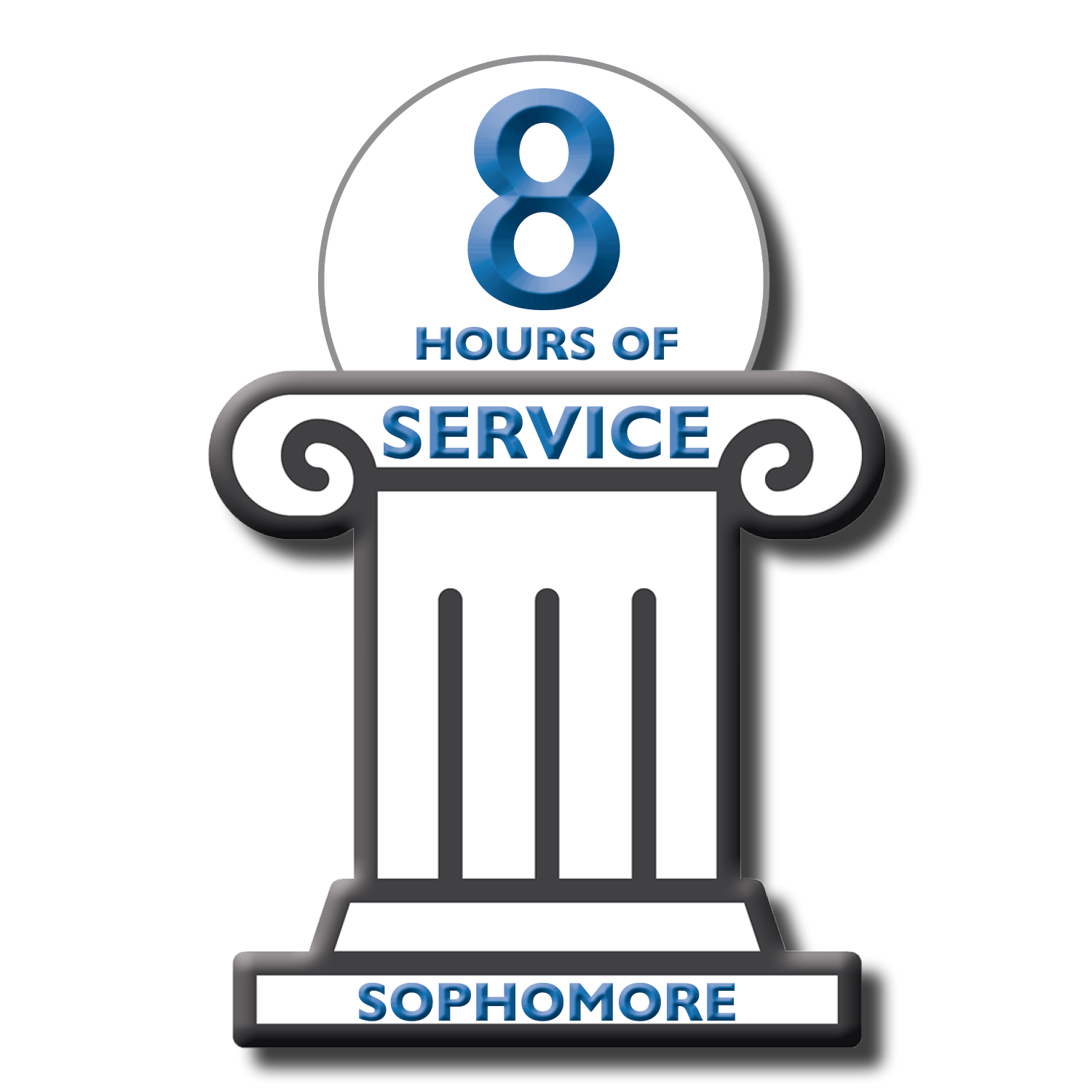 8 Hours of Service sophomores