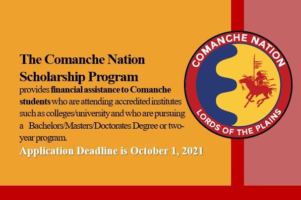 Comanche Nation Scholarship