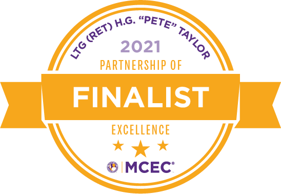 Pete Taylor 2021 Partnership of Excellence Finalist