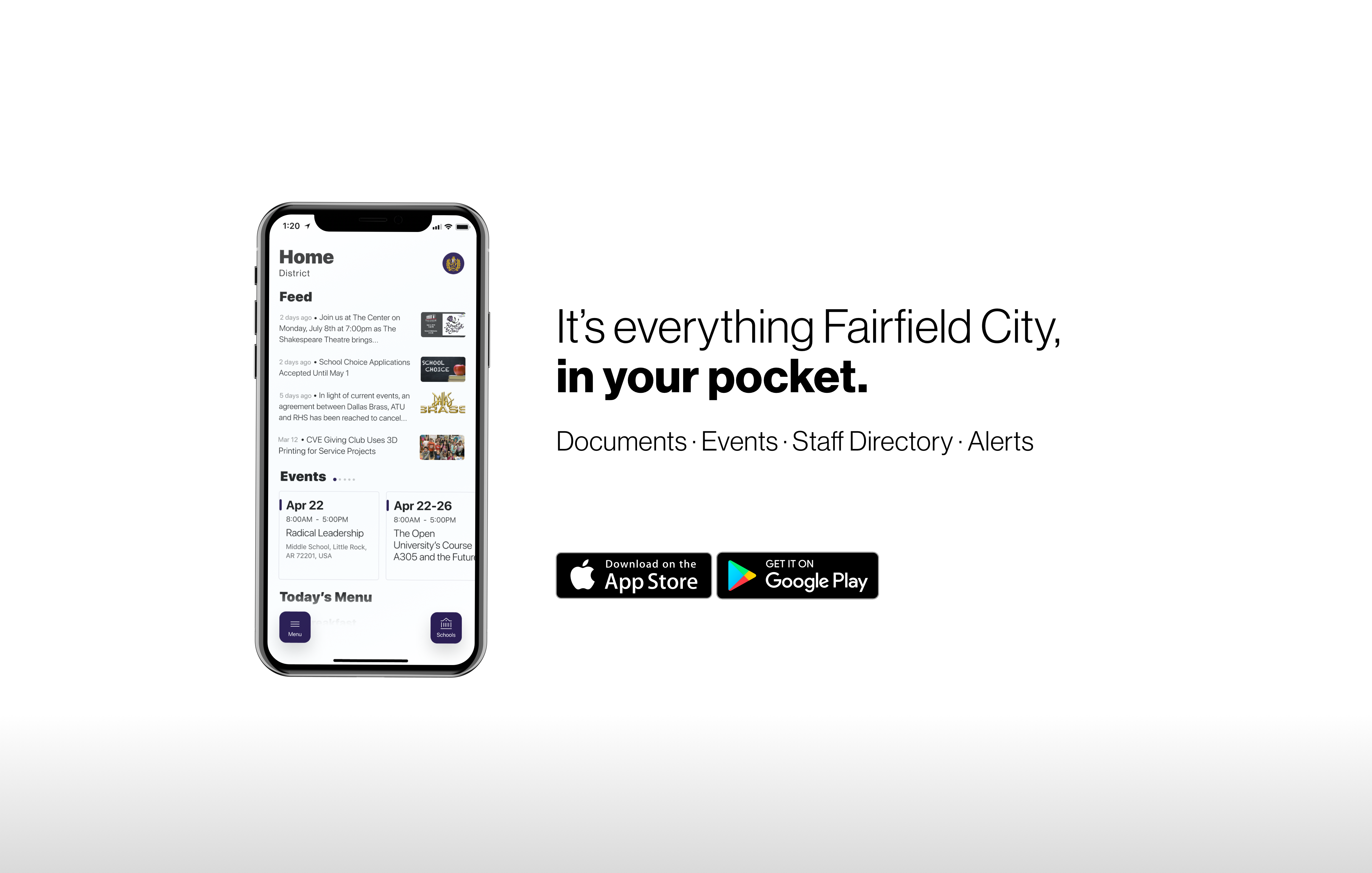 it's everything fairfield city, in your pocket