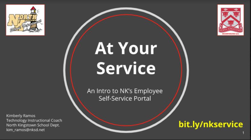 Employee Self Serve