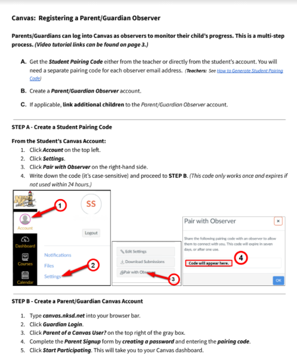 image of PDF directions