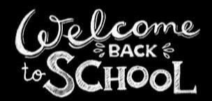 Welcome Back to School Blk & White