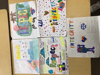 Creative expression for ELA class based on 4 Habits of Character