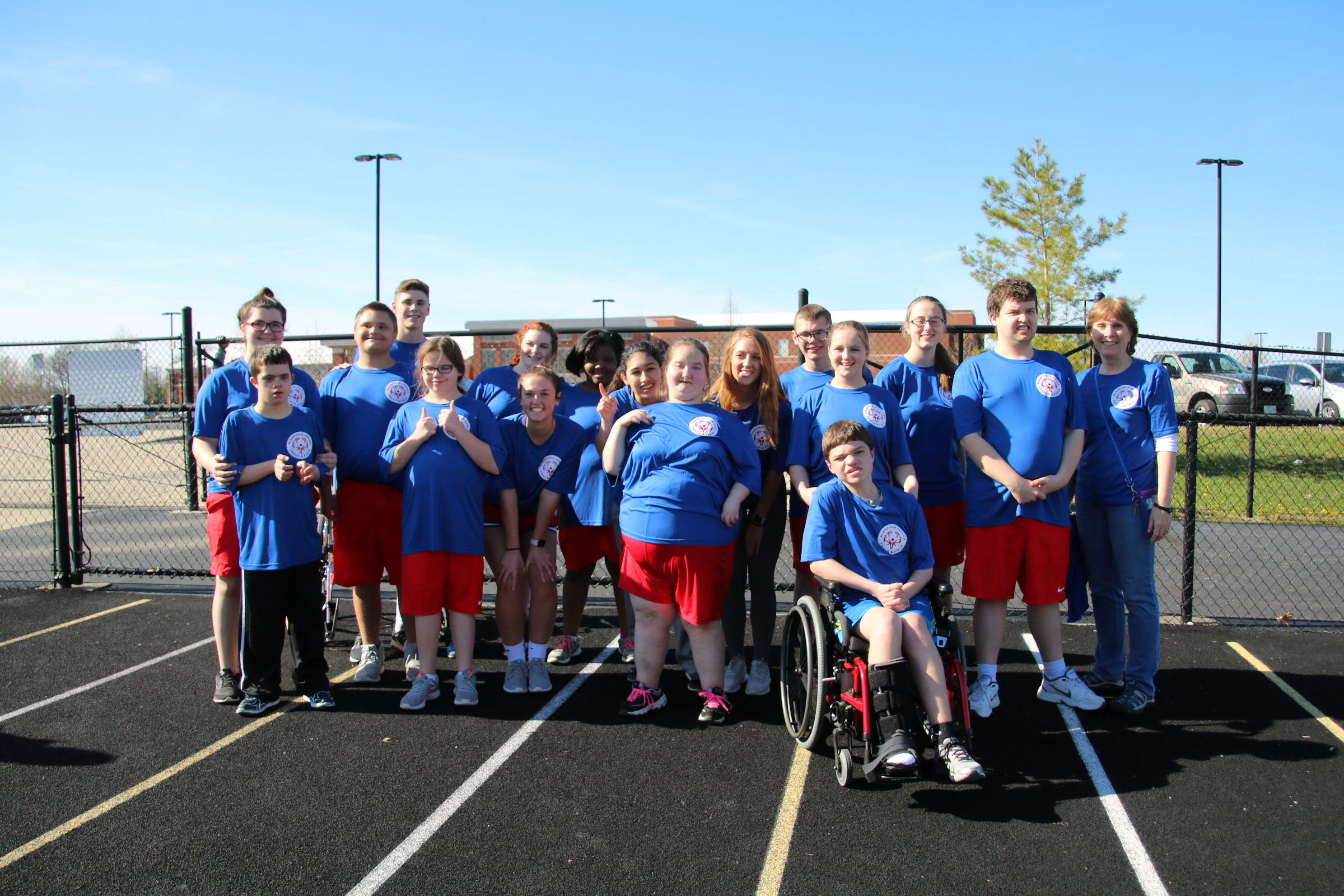 photo of student athletes