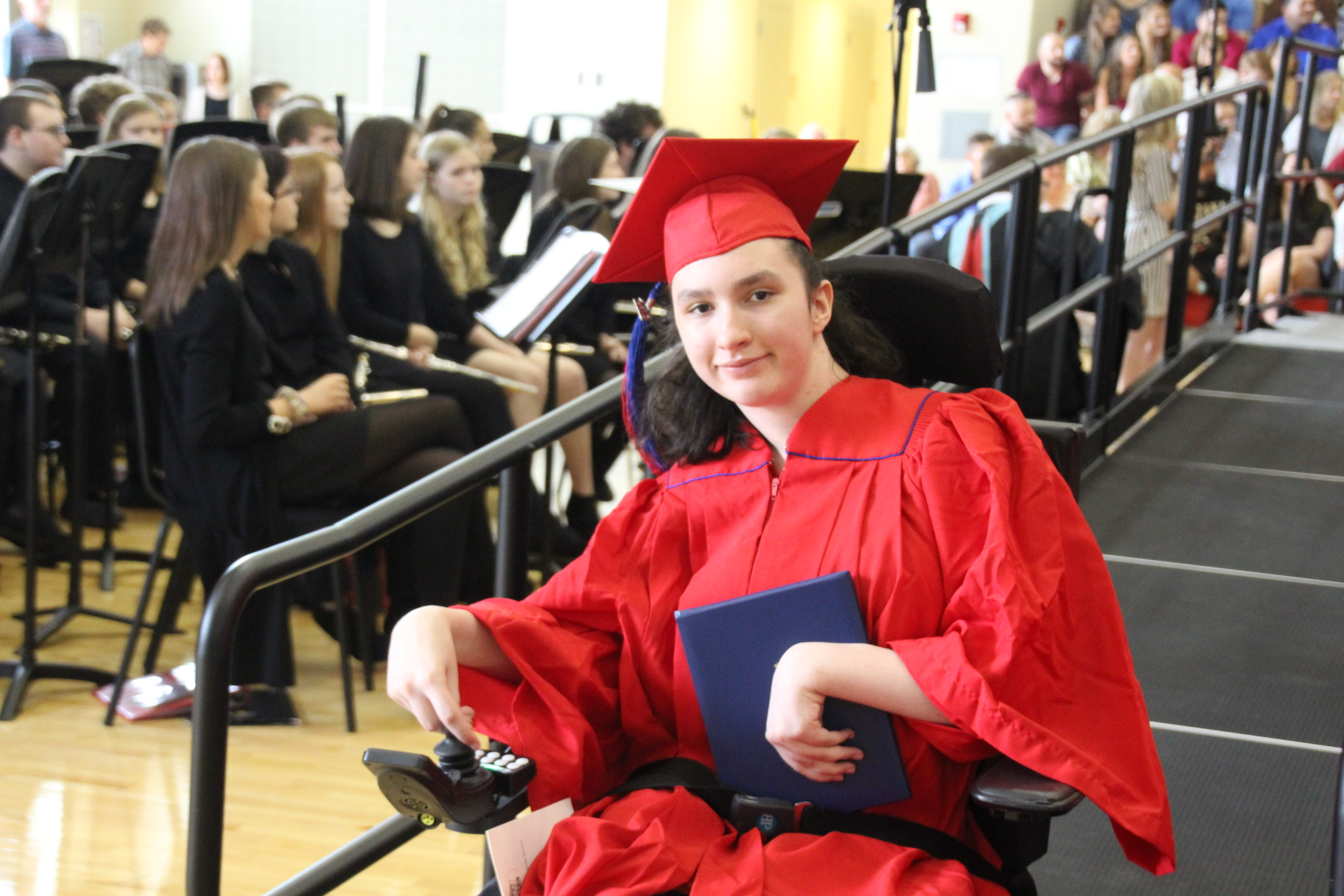photo of student from graduation