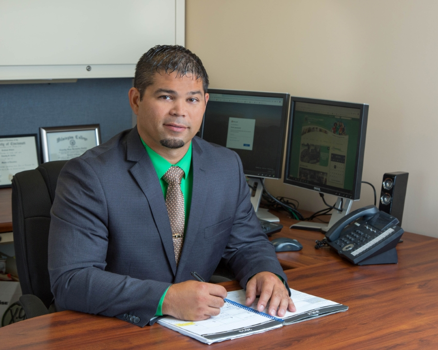 Superintendent, Tim Carlier's