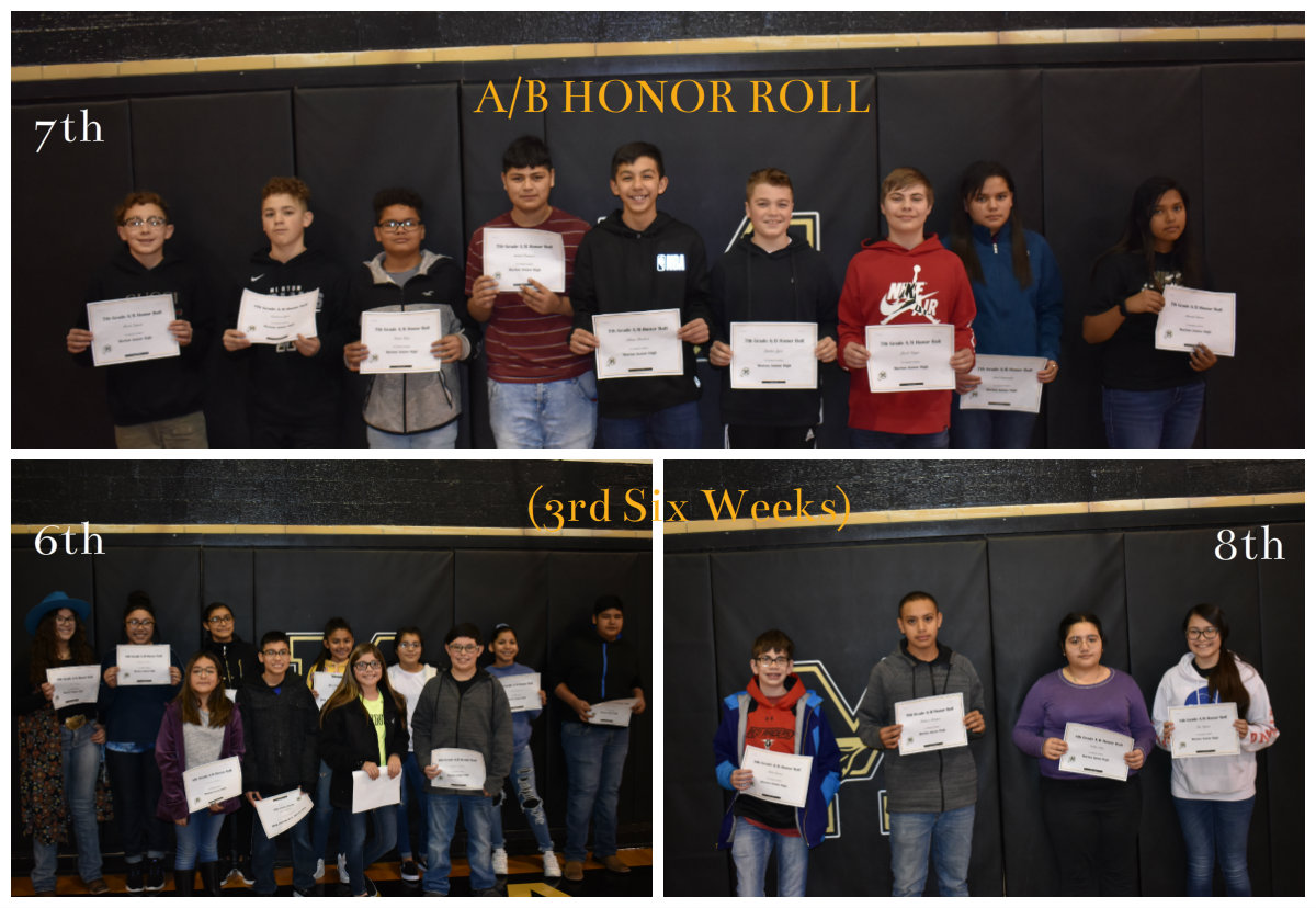 A-B Honor Roll 3rd