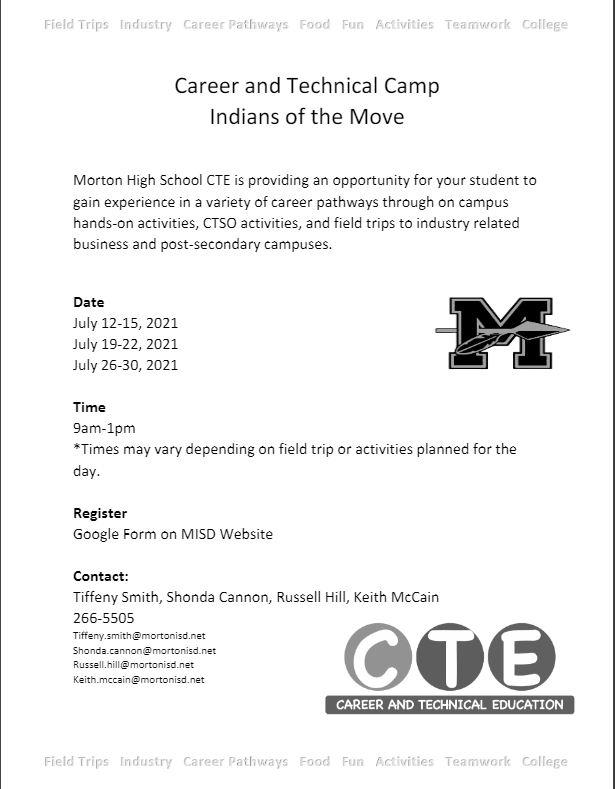 cte flyer