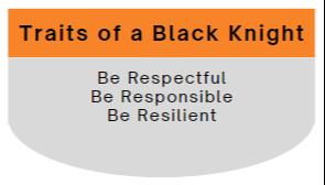 Traits of a Black Knight