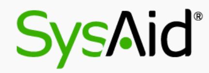 SysAid FAQ