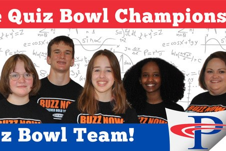 PJHS quiz bowl team state champs!