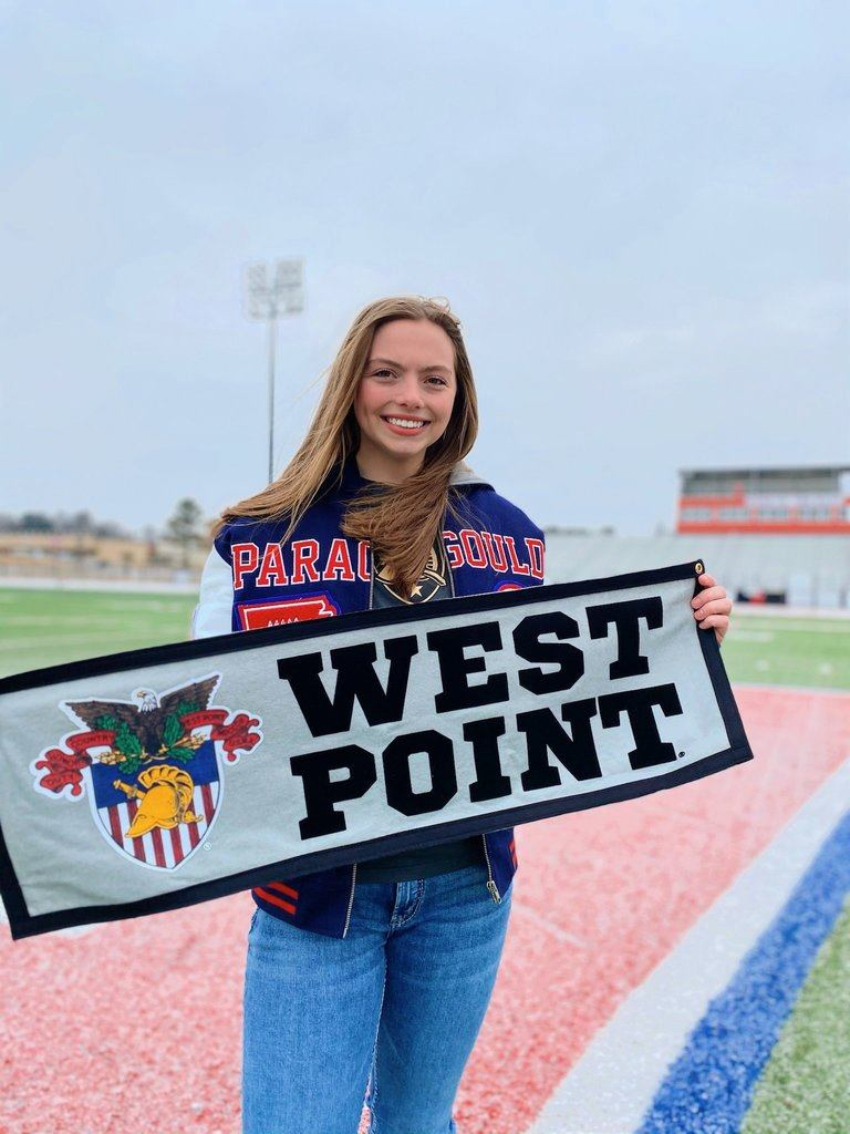 Olivia Hancock signs for track/field with West Point