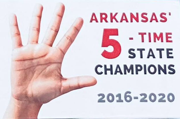 Paragould Pride, 5-time 5A state marching band champions