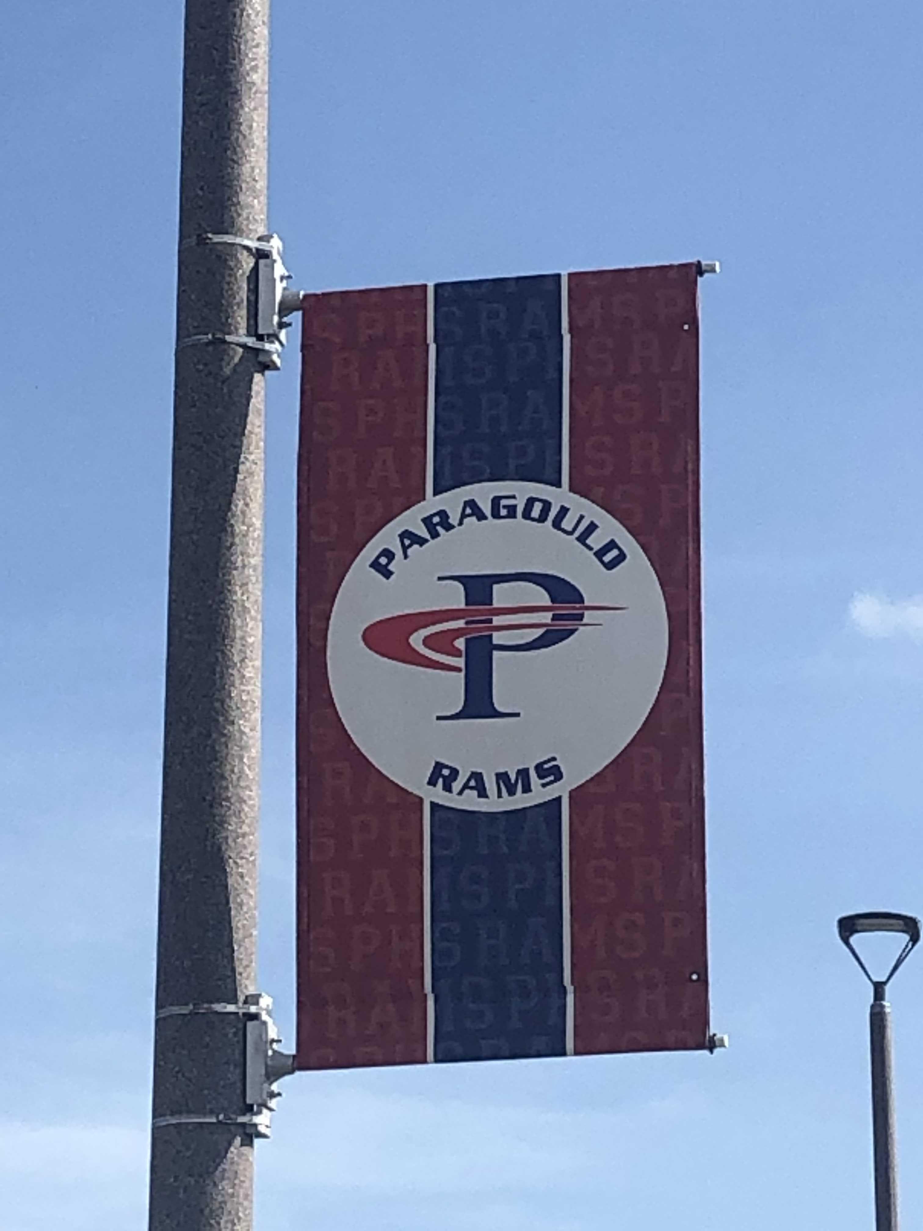 Paragould Rams Sign