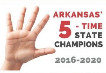 Paragould Pride band 5-time state champs 2016-2020
