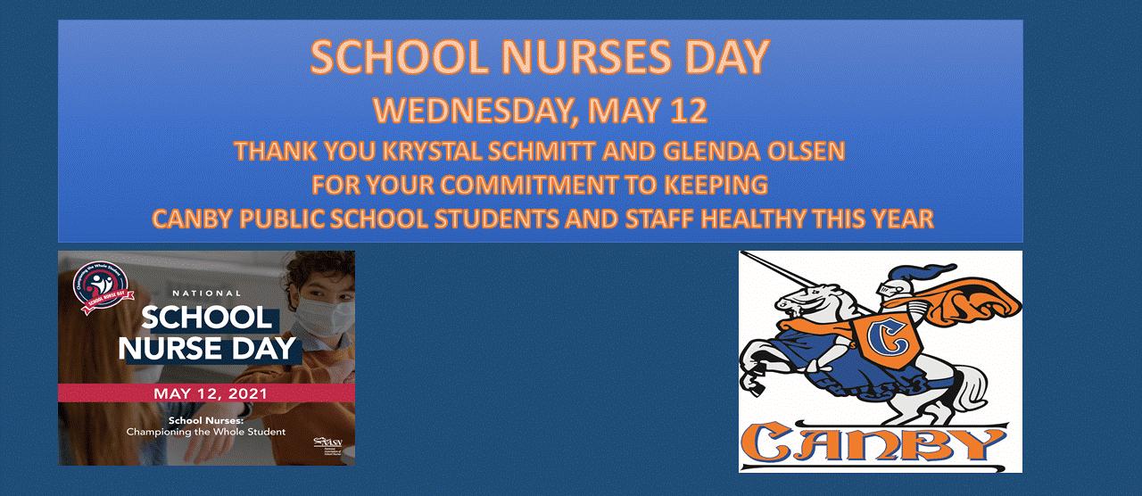 School Nurses Day May 12