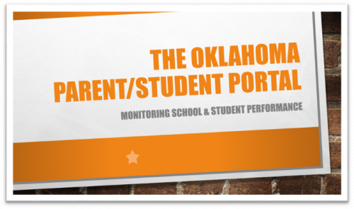 The Oklahoma Parent/Student Portal