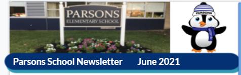 Parsons Newsletter