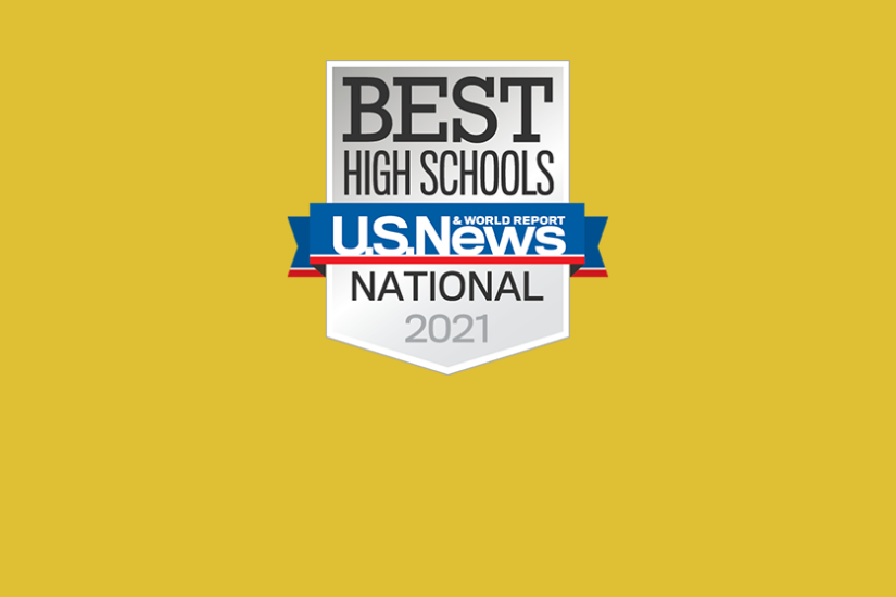 2020-2021 US News and World Report One of America's Best High Schools