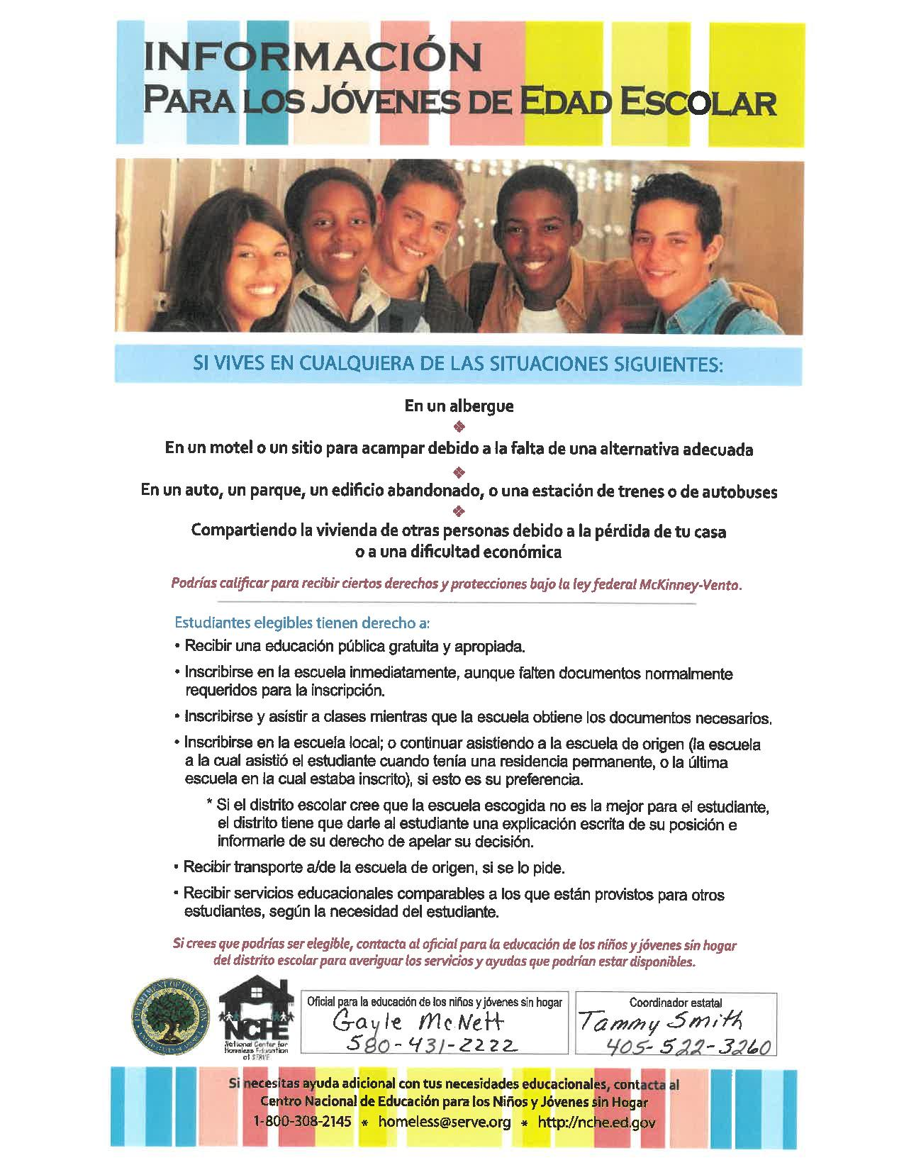 Homeless Identification Spanish