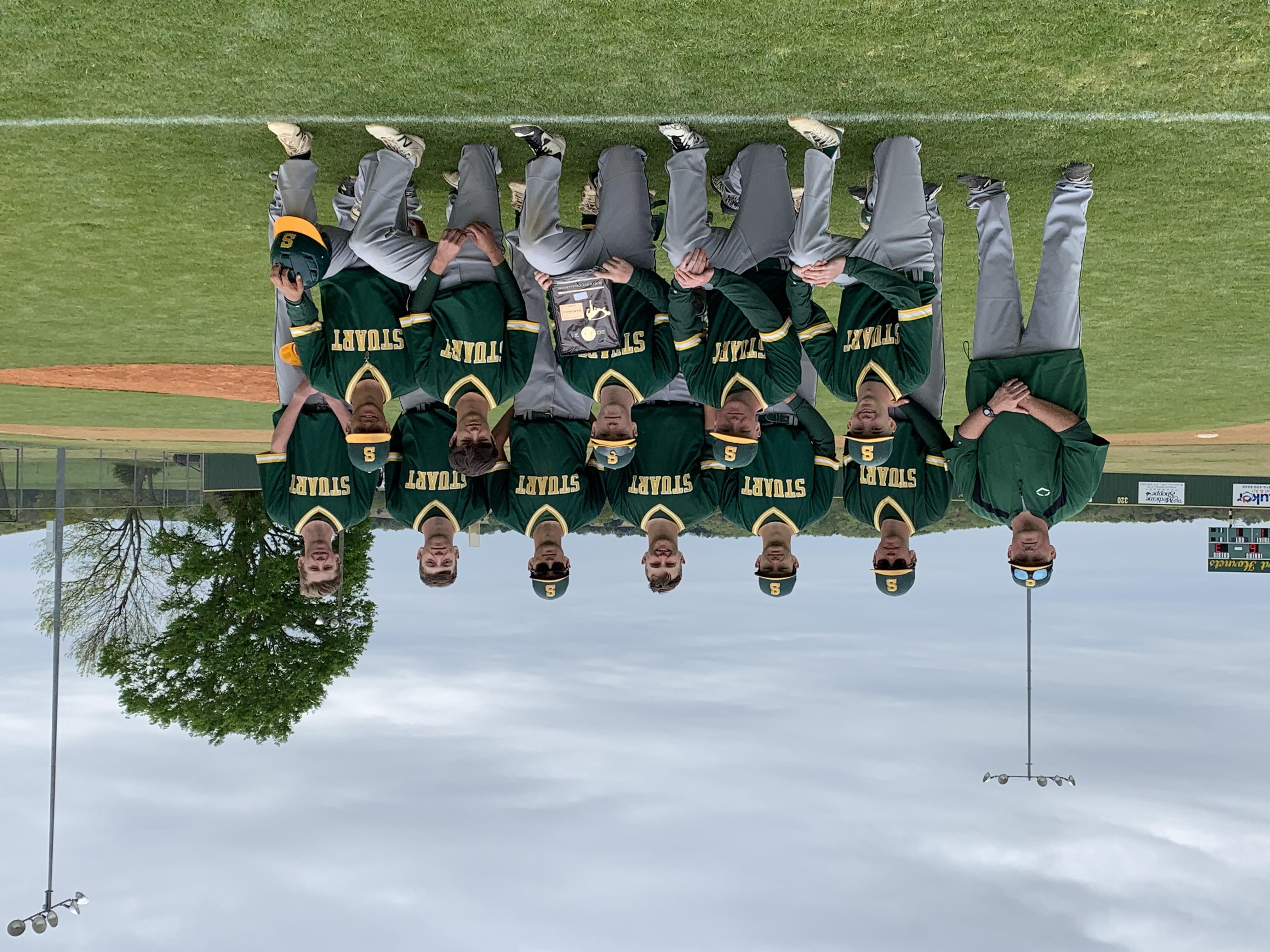Hornet 2021 Baseball District Champions