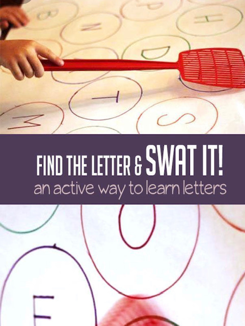find the letter and swat it