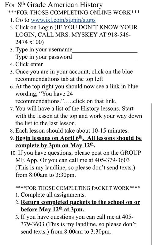 for 8th grade
