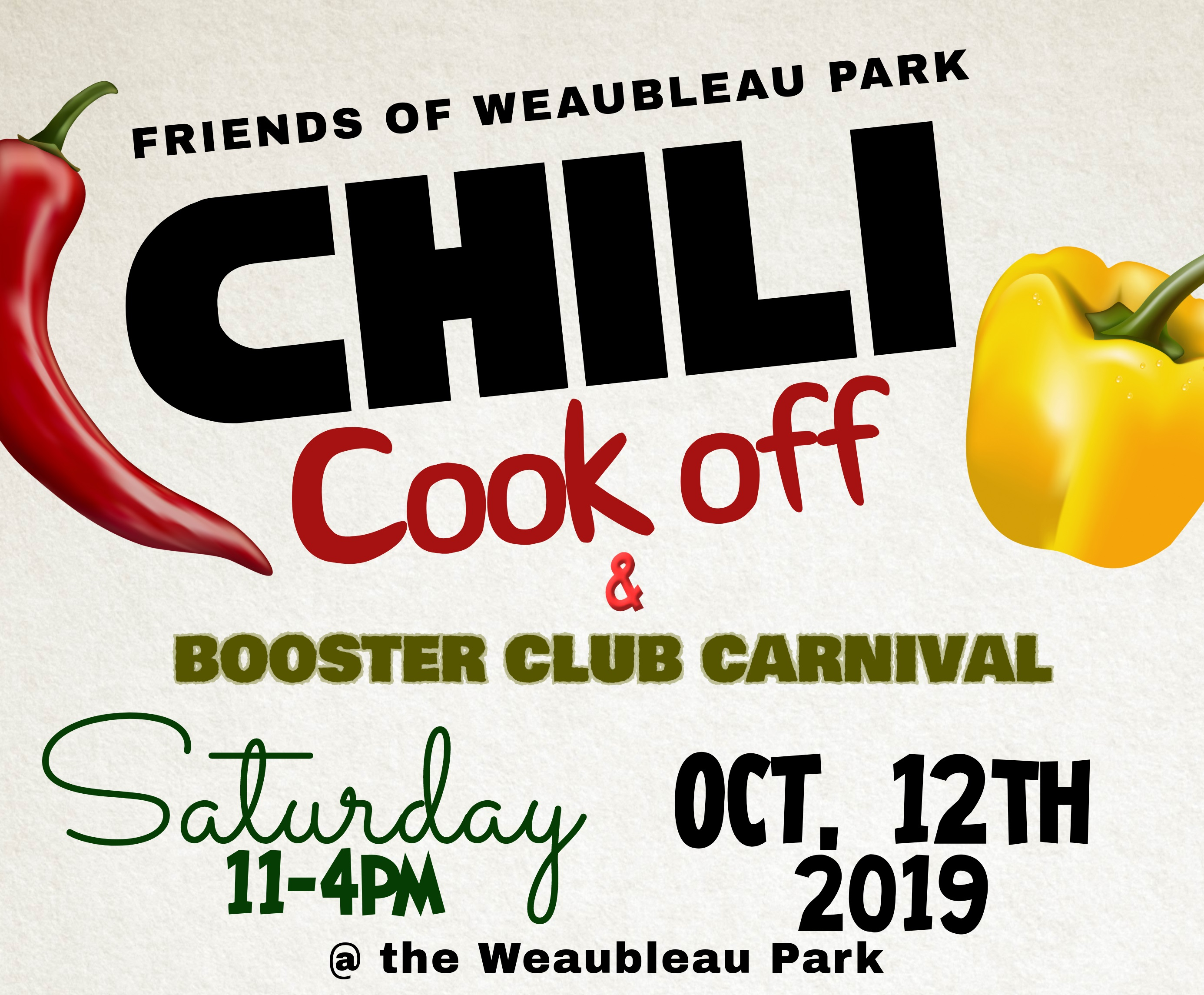Chili Cook Off & Booster Club Carnival