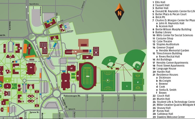 campus diagram