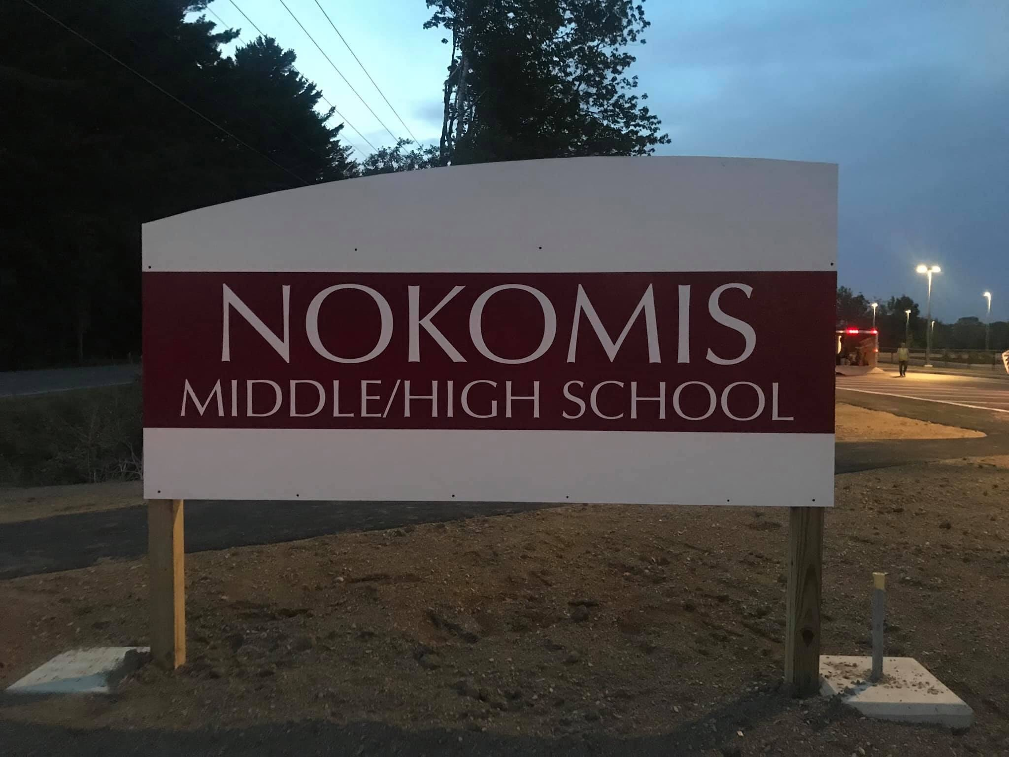 New Sign at Night
