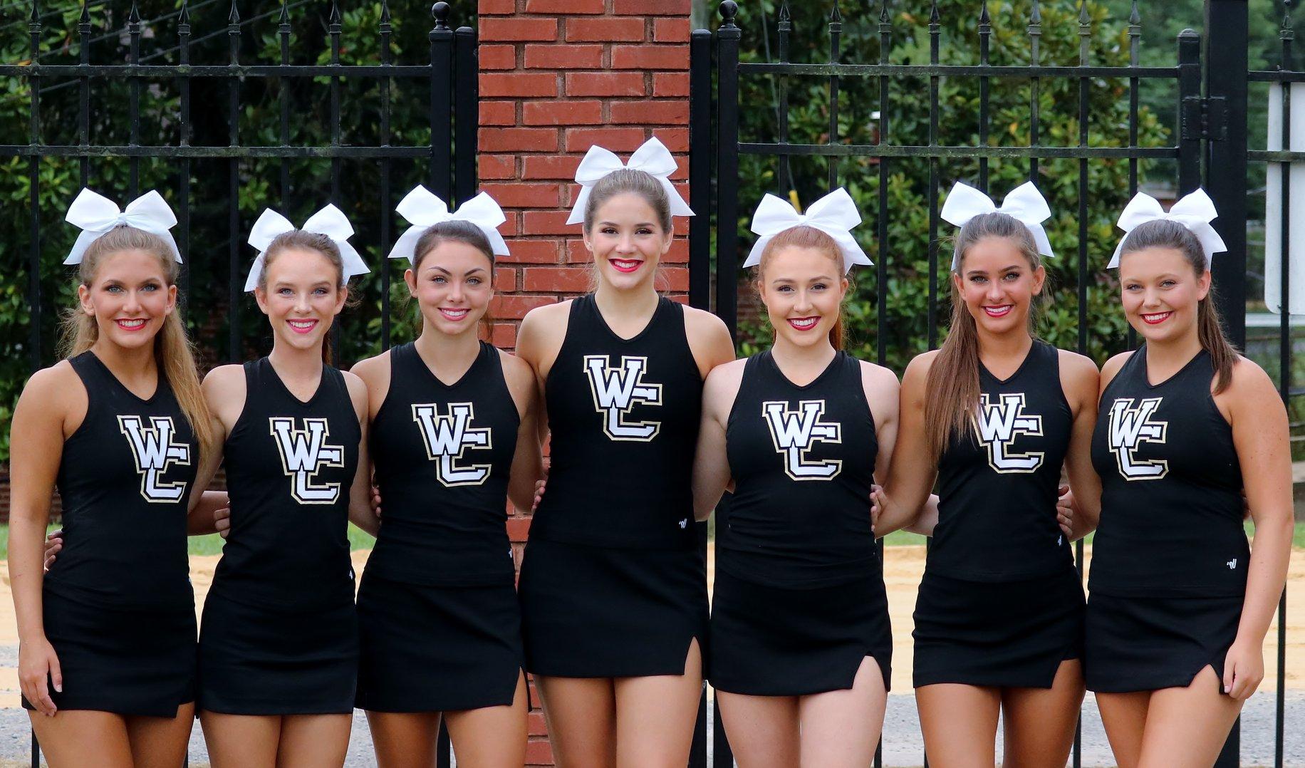 Senior Cheerleaders