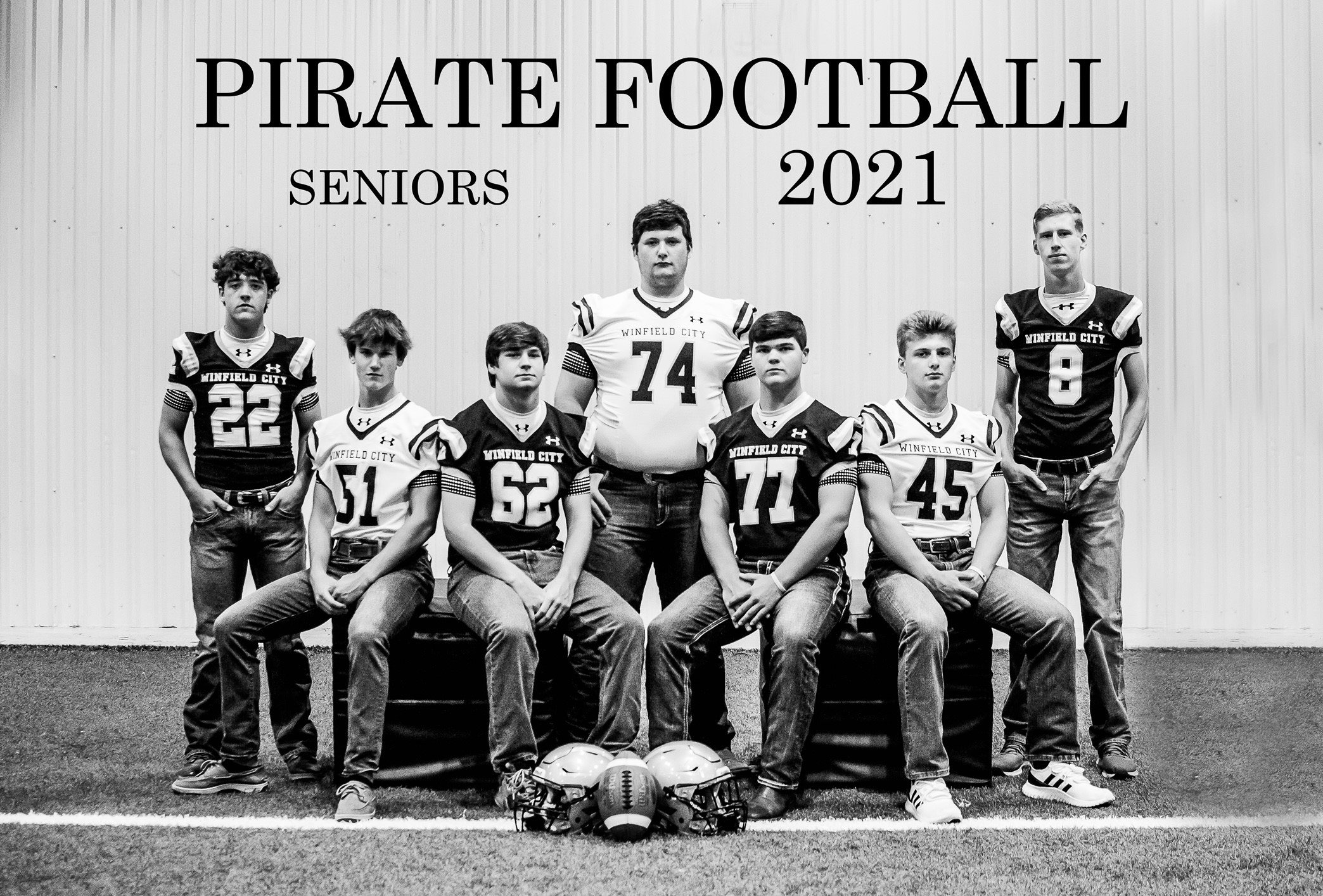 Senior Football Players