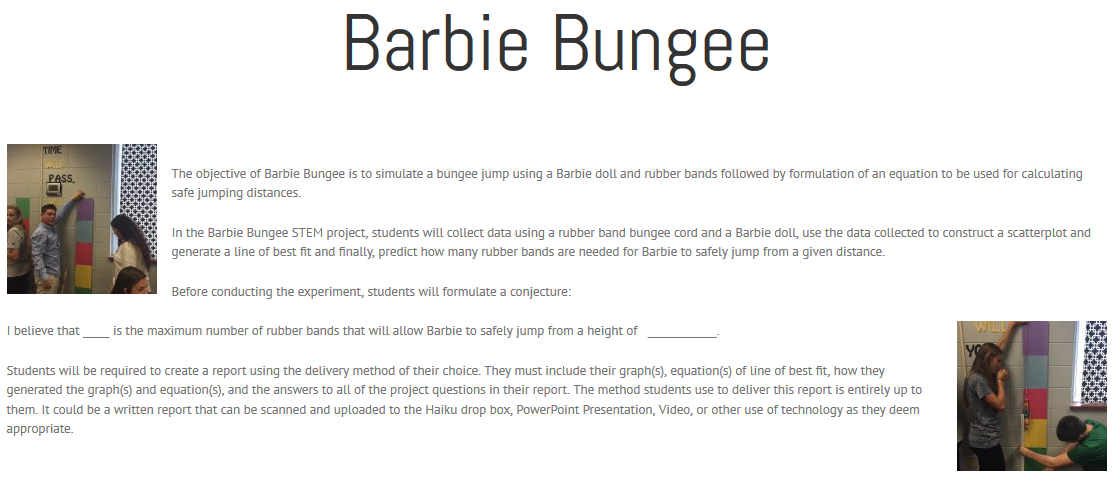 barbie bungee