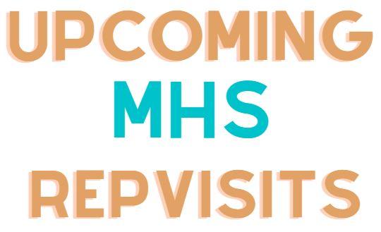 See list of upcoming visits below