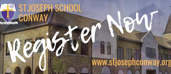 st. joseph register now