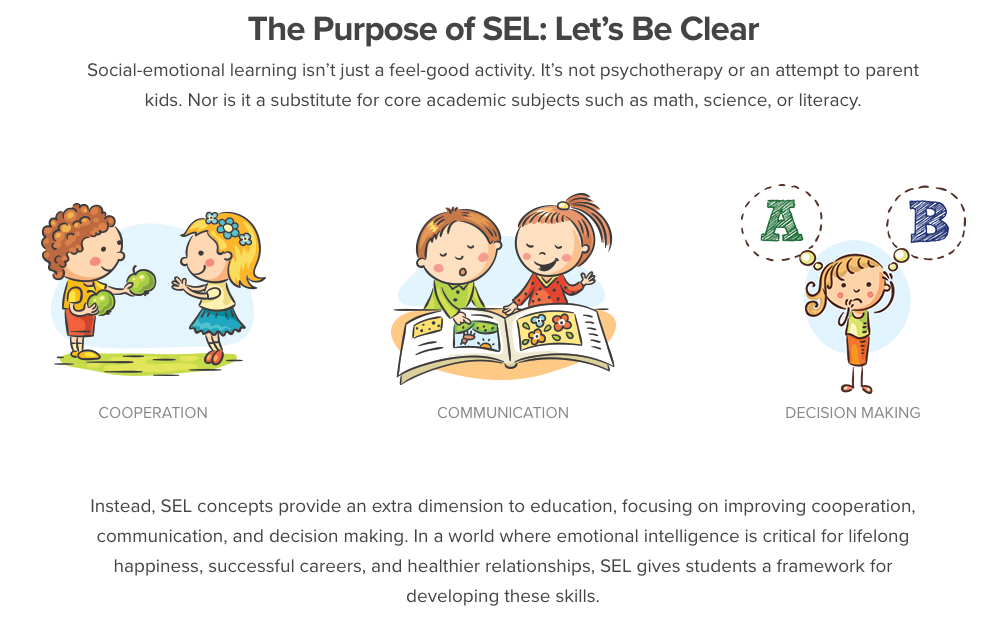 The Purpose of SEL